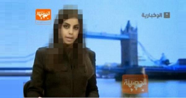 Kemarahan di Arab Saudi apabila pembaca berita TV wanita tak berjilbab