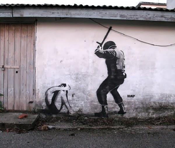 Street Art by Ukranian Banksy