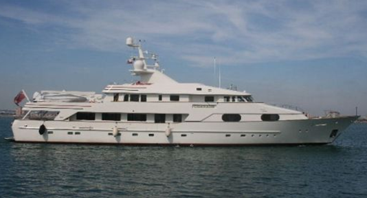bill gates honeymooned on this luxury charade superyacht