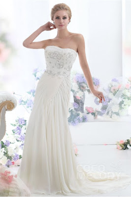 cocomelody beach wedding dress