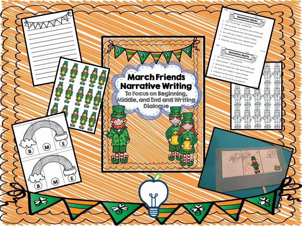 March Friends Writing