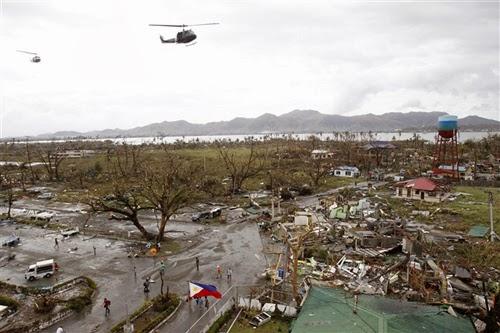 Mỹ cử quân đội hỗ trợ Philippines sau bão