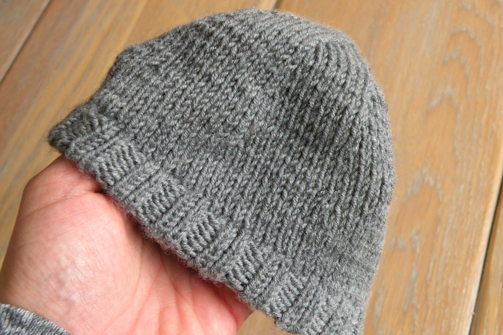 Just Skirts and Dresses: easy baby hat (fits newborn to 2 months old ...