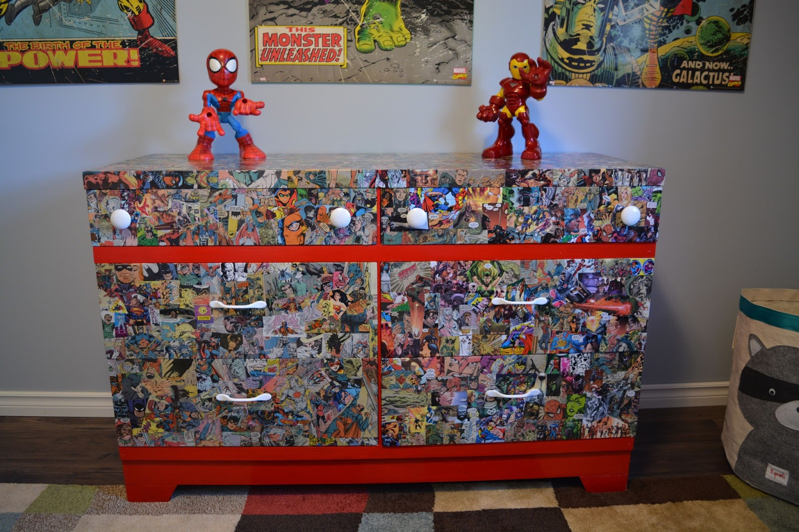 Delightful Custom Superhero Furniture!
