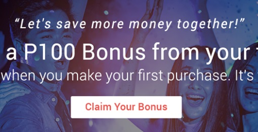 Get PHP100 Cashback