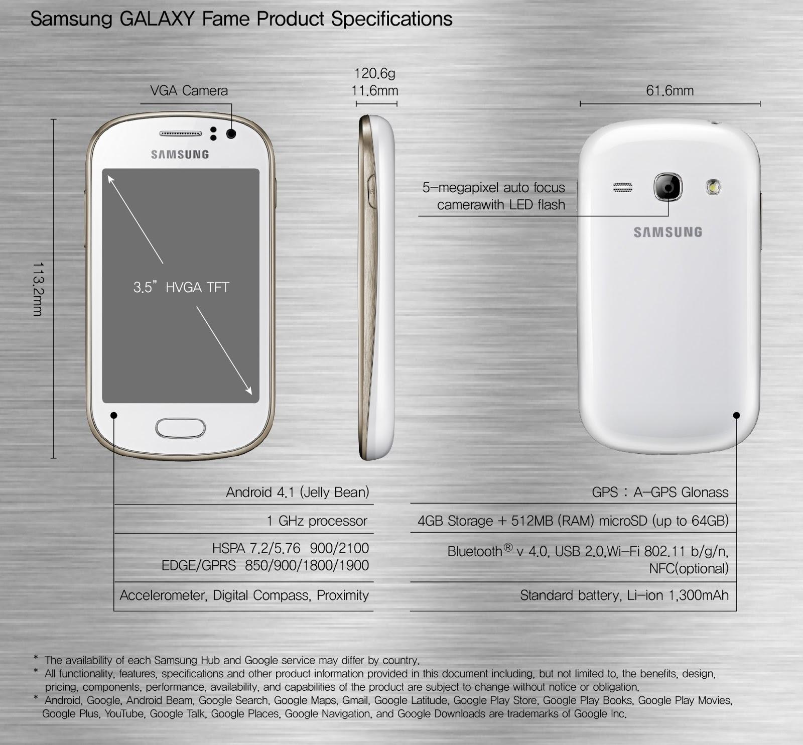 Spesifikasi Harga Samsung Galaxy Fame S6810P Terbaru