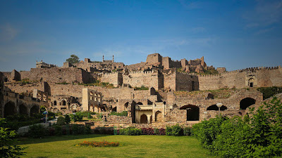 Golconda Fort Tourist Places in Hyderabad