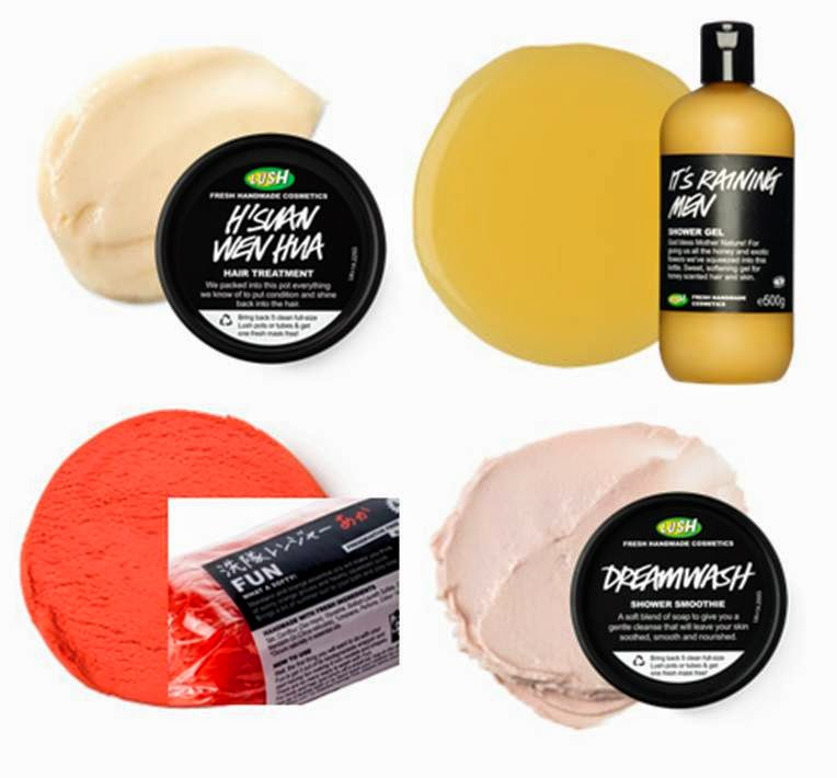 Lush Shower Product Wishlist Haircare Shower