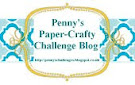 Winner Penny`s Paper-Crafty Challenge nº319