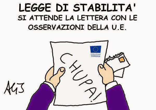 UE, legge stabilità