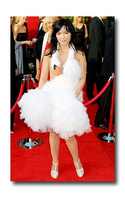 Bjork's Swan Dress