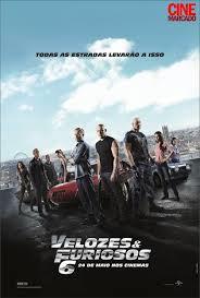 """Poster do filme """"Velozes e Furiosos 6"""""""