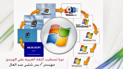 حل مشكلة اللغة العربية مع ويندوز 7