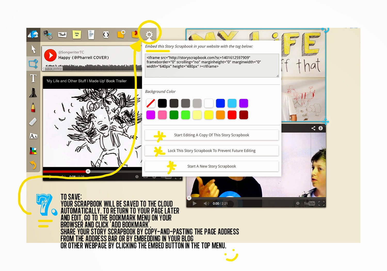 How to scrapbook on a mac - Digital Storytelling Multimedia Scrapbooking Story 2 0 Digital Story Transmedia Multimedia Pre Visualisation Vision Boarding Vision Board