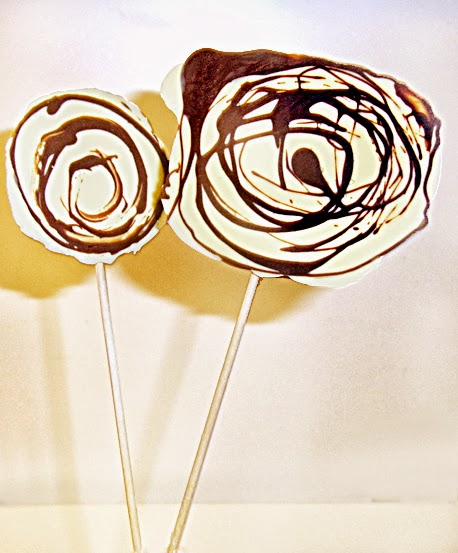 Schoko-Lollies