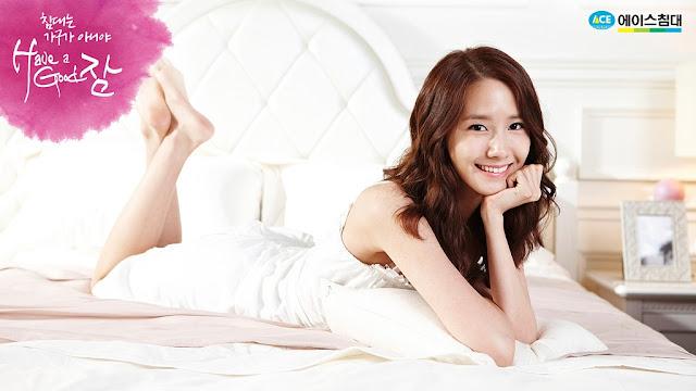 少女時代床上寢具代言廣告 - 潤娥(윤아)Yoon A