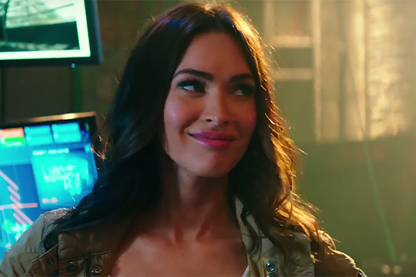 "Megan Fox in the first trailer for ""Teenage Mutant Ninja Turtles 2"""
