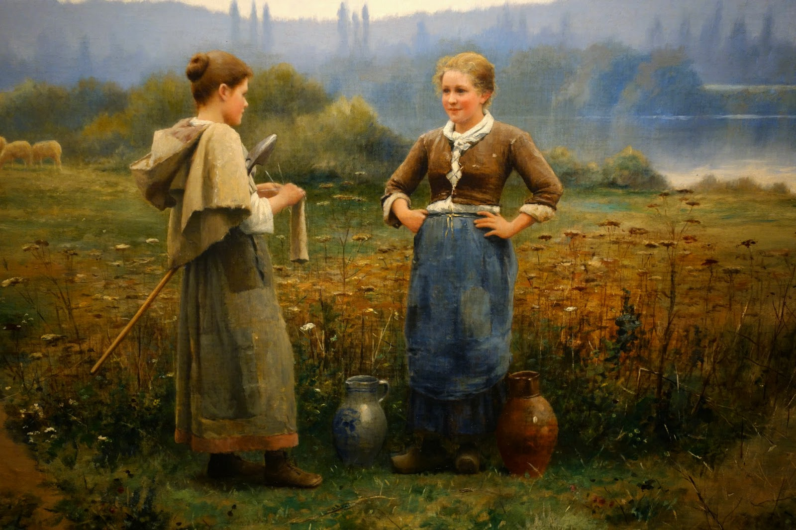 ridgway girls The official position taken by the wikimedia foundation is that faithful reproductions of two-dimensional public domain works of art are public domain.