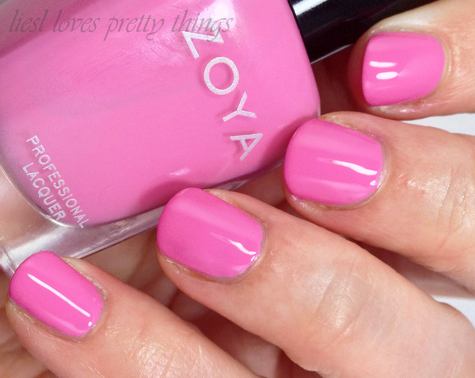 Zoya Eden swatch and review-- Delight 2015