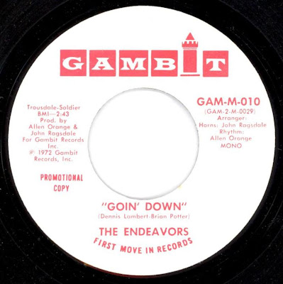 Endeavors, The - Tighter And Tighter / A Piece Of The Good Life