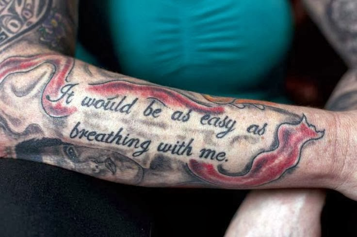 Twilight saga inspired tattoos cathy ward her famous for Twilight jacob tattoo temporary