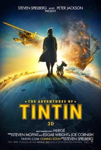 The Adventure of Tintin (2011) Worldfree4u - Watch online Full Movie Free Download BRRip   Hindi Dubbed   HD 720p