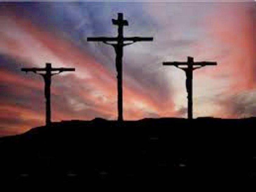 TRES CRUCES, JESUCRISTO Y DOS CRIMINALES