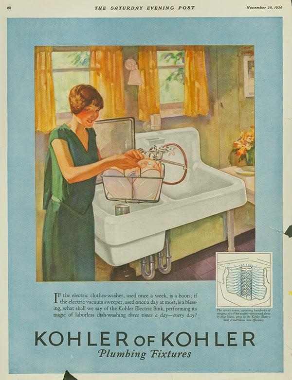 El precursor para el lavavajillas moderno