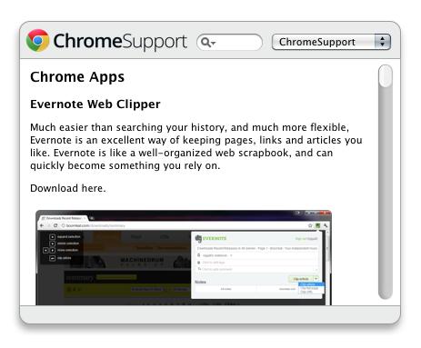 ChromeSupport