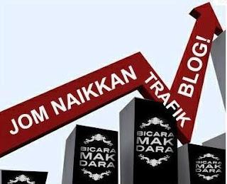 segmen;: Jom Naikkan Trafik Blog!