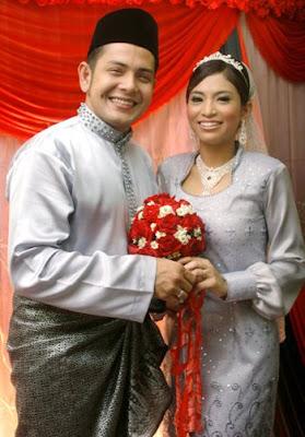 Gambar Danny X Factor dan Saidatul Fazlin Zakaria Majlis Perkahwinan