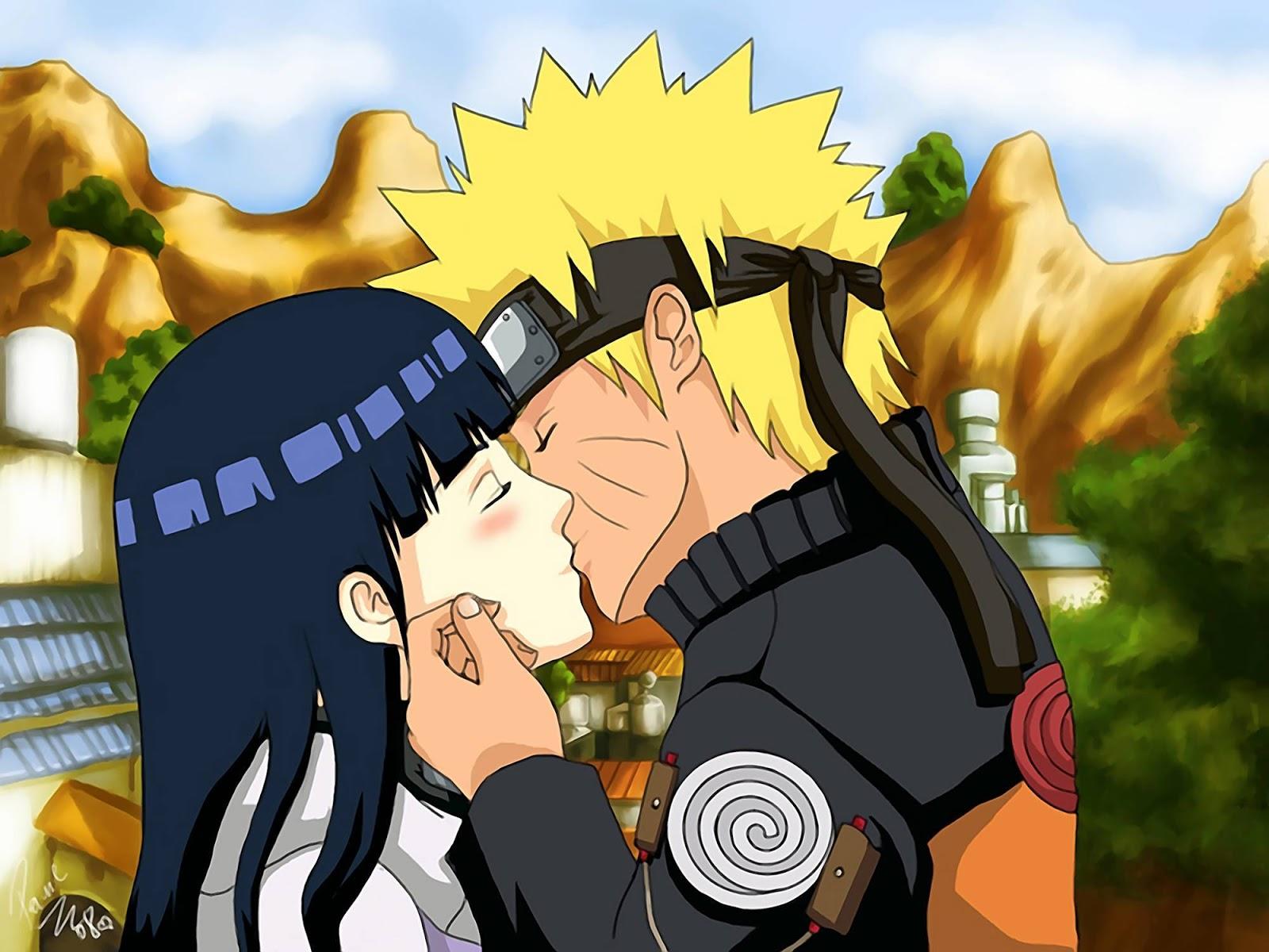 Wallpaper Naruto dan Hinata Romantis