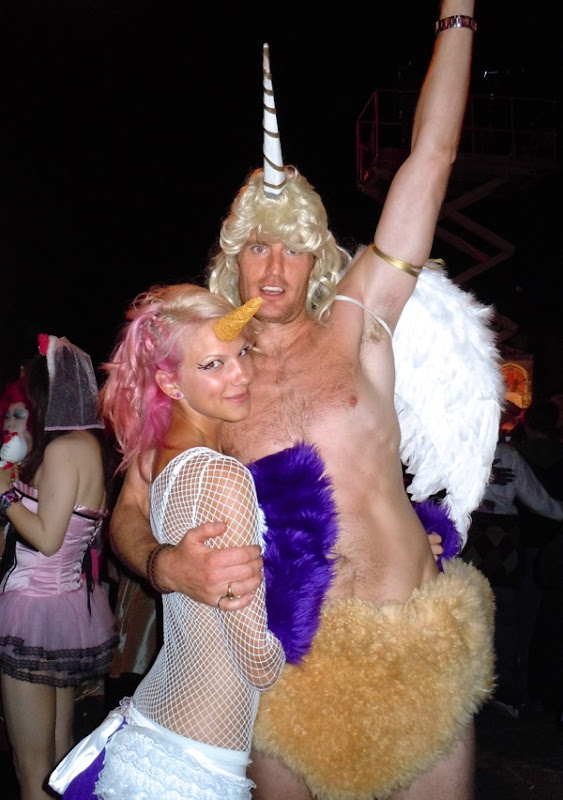 West Hollywood Halloween Unicorn costumes 2010