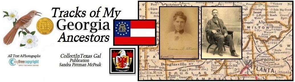 Tracks of My Georgia Ancestors