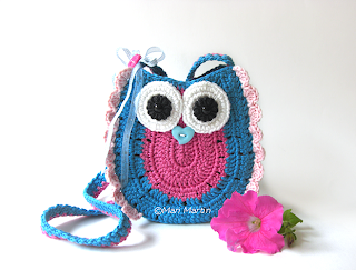 Owl Purse Bag Girls Pattern