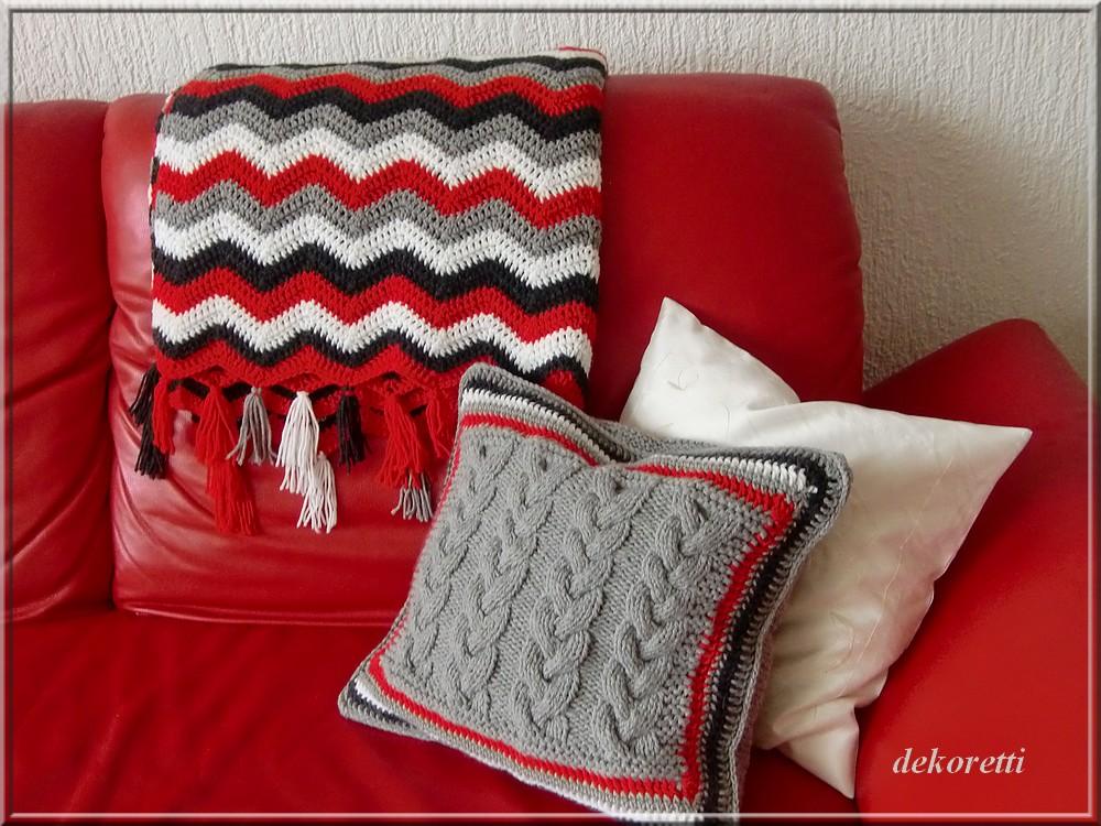 dekoretti s welt ein kissen in blumenform. Black Bedroom Furniture Sets. Home Design Ideas