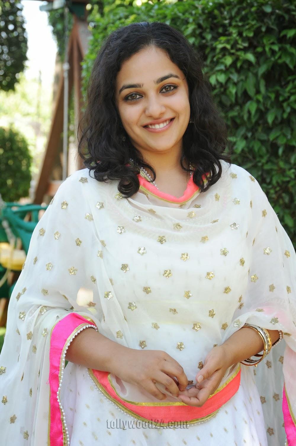 nitya menon photos at sharwanand movie launch photo 13 | telugu
