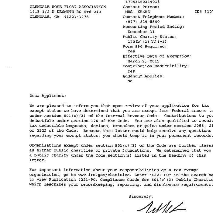 501c3 nonprofit tax exempt