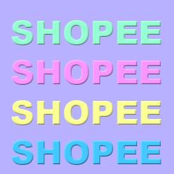Pastel Cubes Shopee