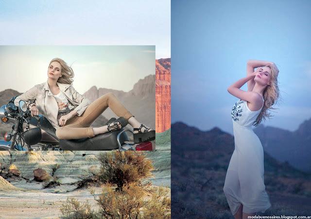 Vestidos, faldas, pantalones, moda verano 2016 tendencias Sweet 2016 moda.