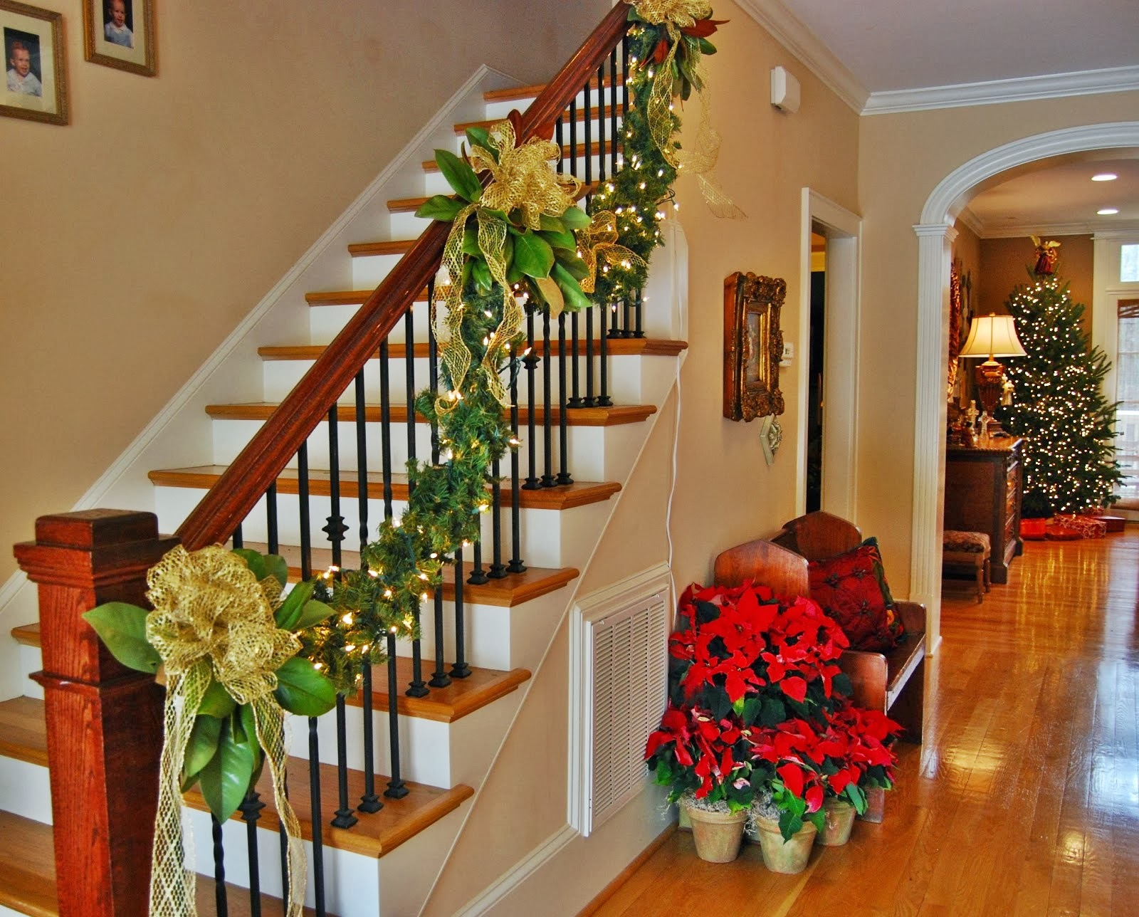 faux greenery for christmas decorating - Decorating Your House For Christmas