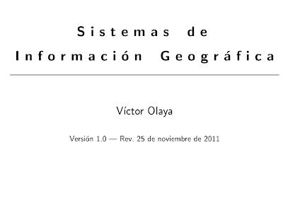 Imagen de la portada del libro Sistema de Información Geográfica