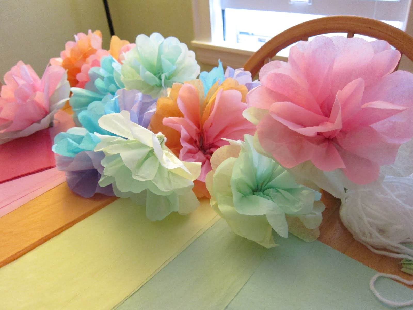 Shore society diy tissue paper flowers izmirmasajfo