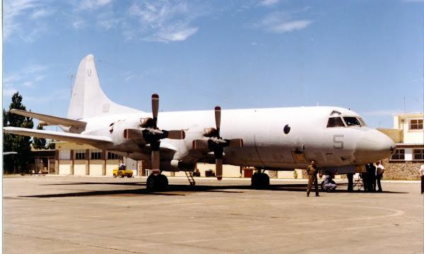 Historial: Llegada del primer P-3B Orion a la EA6E