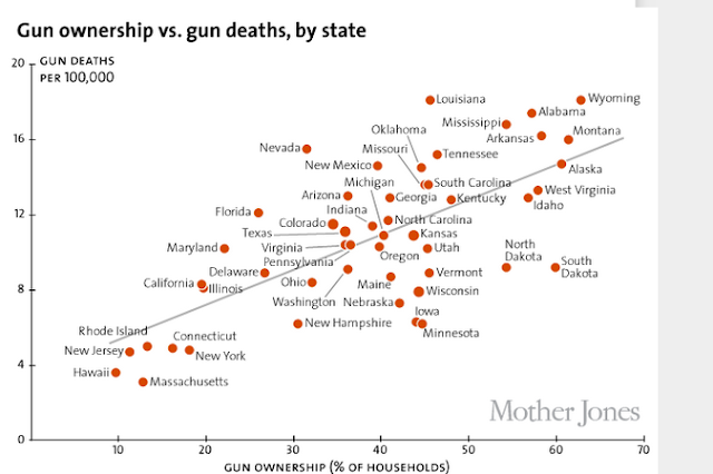 tragedies caused by gun ownership and the relationship between gun control and gun violence