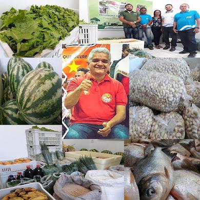 Prefeito Américo revolucionando a Agricultura Familiar em Coelho Neto.