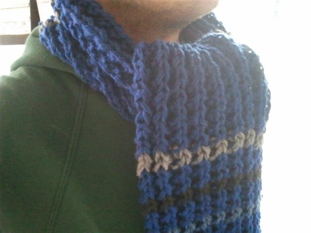 Patroon Voor Een Mannensjaal