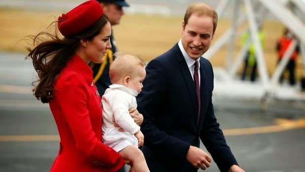 Prince William and Princess Catherine Pining for Prince George
