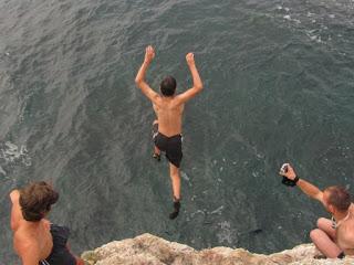 Cliff Jumping - Toma Borcea