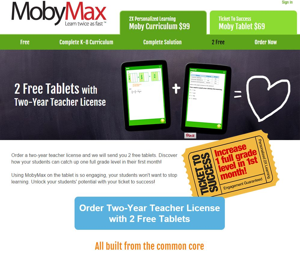 Moby max math log in - Mobymax Is Letting Me Giveaway A Tablet